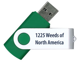 1225 Weeds of North America Flash Drive