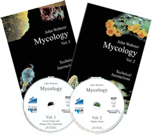 Mycology Volumes 1 and 2 DVDs