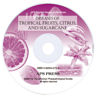 Diseases of Tropical Fruits, Citrus, and Sugarcane Image CD-ROM (Single-User License)