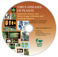 VIRUS DISEASES Grape/Potato/Wheat Images & Teaching CD (SU)
