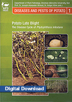 Potato Late Blight - The Disease Cycle of <em>Phytophthora infestans</em> DIGITAL DOWNLOAD