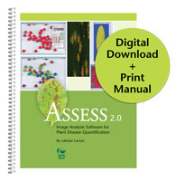 Assess 2.0: Image Analysis Software for Plant Disease Quantification DIGITAL DOWNLOAD with PRINT Manual (Single User)