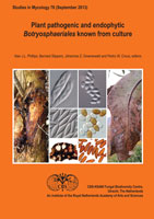 Studies in Mycology No. 76: Plant pathogenic and endophytic Botryosphaeriales known from culture