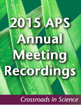 2015 APS Annual Meeting Presentations