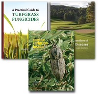 A Practical Guide to Turfgrass Fungicides, Compendium of Turfgrass Diseases, Third Edition, and Handbook of Turfgrass Insects, Second Edition - 3 Book Kit