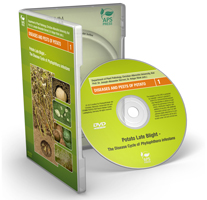Potato Late Blight-The disease cycle of Phytophthora Video DVD-ROM