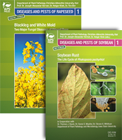 Blackleg and White Mold - Two Major Fungal Diseases of Oilseed Rape DVD-ROM<BR>and Soybean Rust: The Life Cycle of <em>Phakopsora pachyrhizi</em> DVD-ROM
