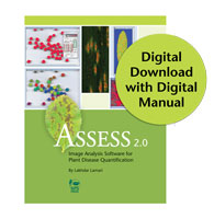 Assess 2.0: Image Analysis Software for Plant Disease Quantification DIGITAL DOWNLOAD with PDF Manual (Multiple User)